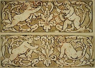 Design for a frieze