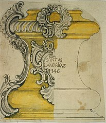 Design for a pedestal