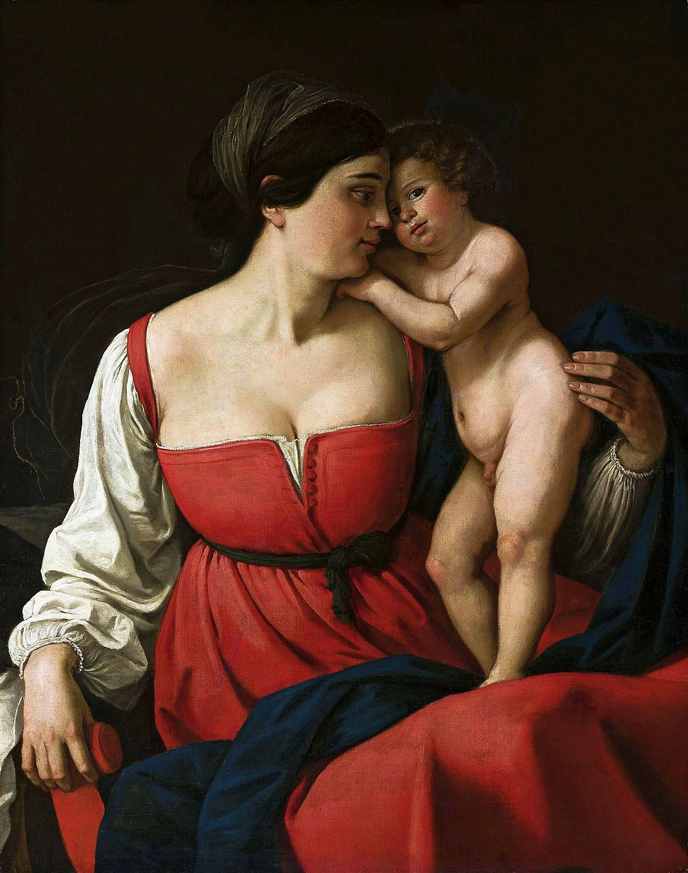 Anonymous Madonna with big breasts