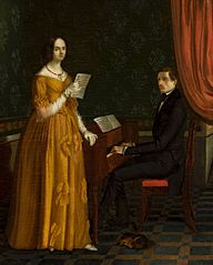 Music performance (Liszt's music lesson)