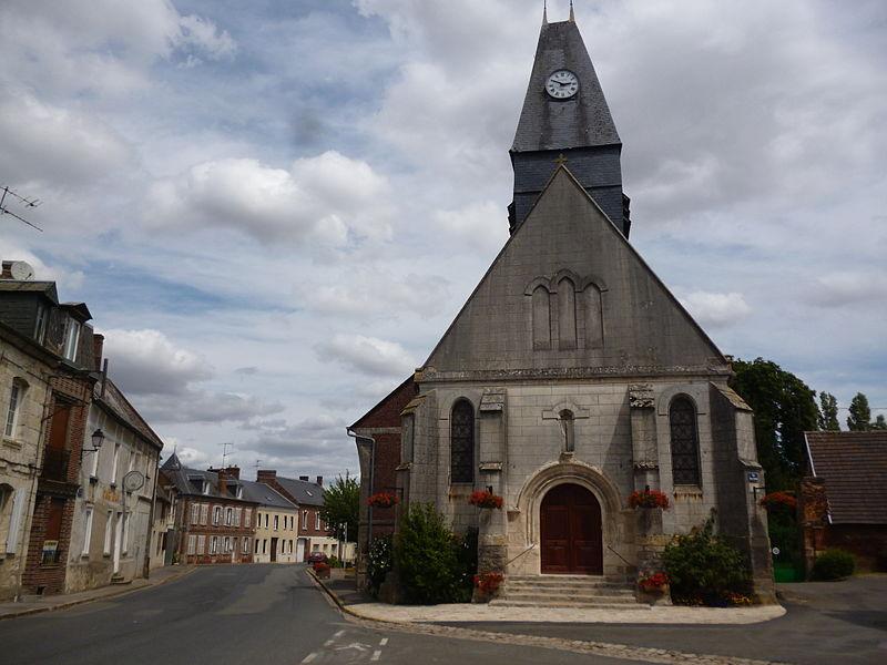 Eglise Saint-Léger d'Ansauvillers (Oise)