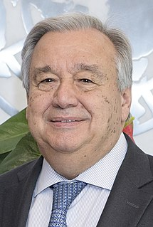 António Guterres Secretary-General of the United Nations