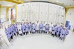 Antena SAR SAOCOM1A en sala limpia LIE CETT CONAE Nov 2017.jpg