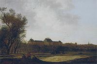 Anthonie Jansz van der Croos - Gezicht op Huis ter Nieu-burg bij Rijswijk 1661.jpg