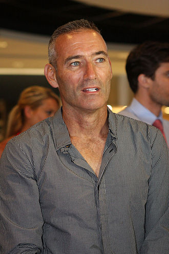 The Wiggles - Anthony Field (in 2012).  Field was instrumental in developing The Wiggles' business model.