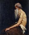 Anton Ažbe - Polakt sedečega starca.jpg