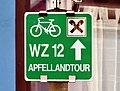 Apfellandtour sign, Anger.jpg