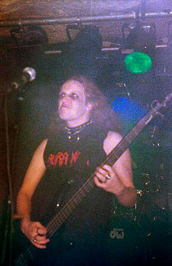 Apollyon live with Aura Noir, 2001.jpg