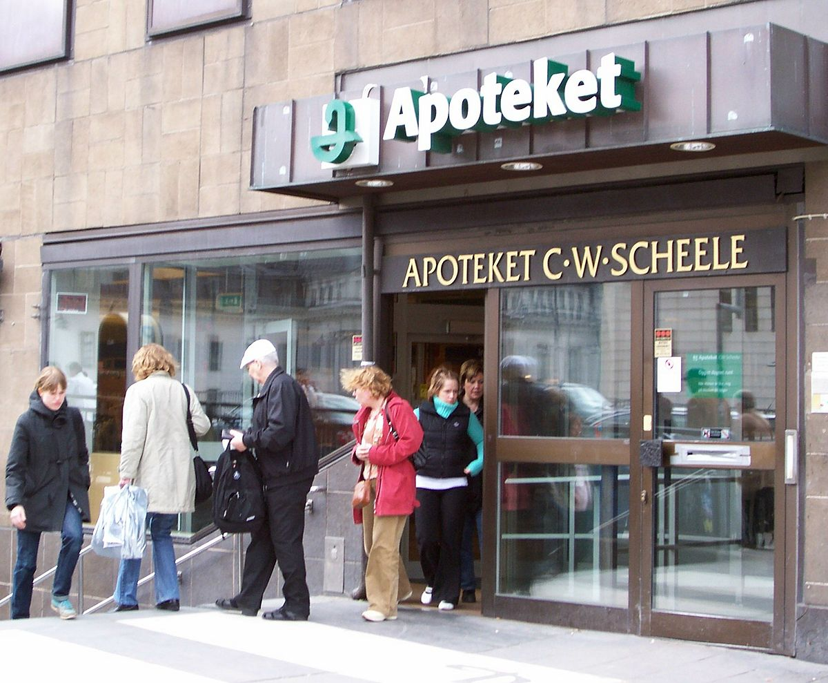 Zanaflex apotek i Sverige