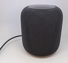 Apple HomePod in schwarz