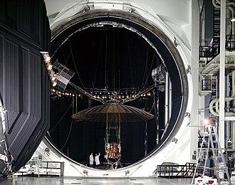 Environmental chamber - Large NASA vacuum chamber.