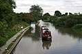 Approaching Cape Bottom Lock, Grand Union Canal, Warwick - geograph.org.uk - 1441347.jpg