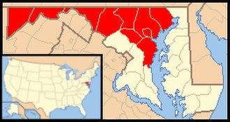 Roman Catholic Archdiocese of Baltimore - Image: Archdiocese of Baltimora