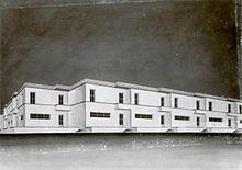 Quadro a tempera di E. Lapadula per il Villaggio dei Ceramisti a Seminara (Reggio Calabria) del 1931
