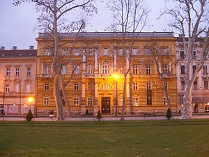 Archaeological Museum in Zagreb - Museum building, located in Zagreb city centre