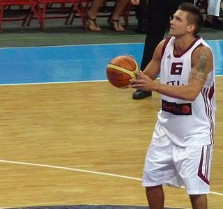Armands Šķēle Latvian basketball player