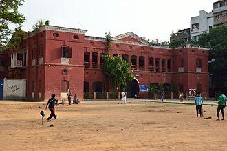 Armanitola Government High School - Image: Armanitola Government High School Bhavan 1 North eastern View 1 Abul Khairat Road Dhaka 2015 05 31 2750
