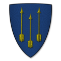 Armorial Bearings of the ARCHER family, of Little Hereford, Herefordshire.png