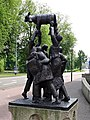 Arnhem - Dans om het gouden kalf (1976) van Fri Heil - 01.jpg