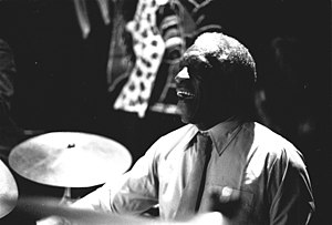 1919 in jazz - Art Blakey in 1985