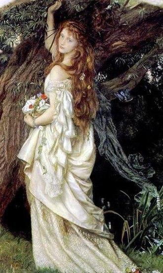 Arthur Hughes (artist) - Ophelia