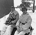 Arthur Nordenswan and Carl August Ehrensvärd in Finland 1940.jpg