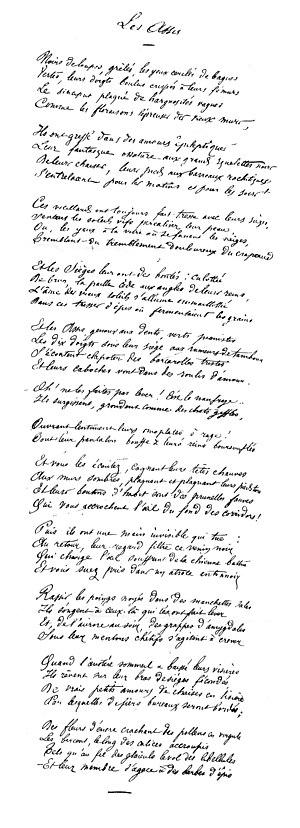 Manuscrit des Assis