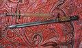 Artisanat de tranchée de 1914-1918 et baïonnette allemande d'un fusil Mauser 98 de l'armée allemande..JPG