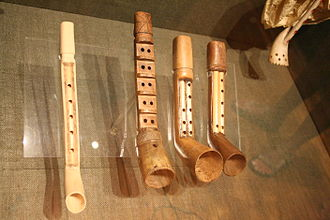 Museum of Greek Folk Musical Instruments - Image: Askomandoura pipes