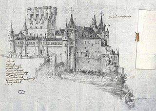 File Aspecto Del Alcázar De Segovia Anterior Al Incendio De