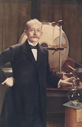 Kristian Birkeland - Portrait by Asta Nørregaard, 1900