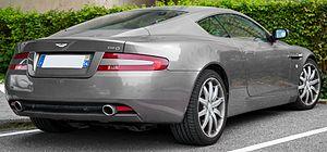 Aston Martin DB9 - Pre-facelift Aston Martin DB9 (France)