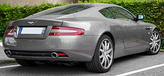 Aston Martin DB9 - Read 3/4 view (Pre-facelift)
