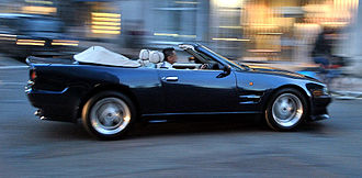 Aston Martin Virage - Virage Volante with Vantage style coachwork available from Works Service