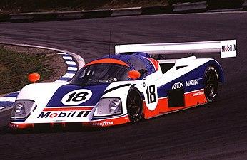 Aston Martin racer - 1000kms race - Brands Hatch - 1989 (6976660710).jpg