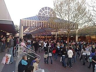 Adelaide Showground - The atrium at the 2007 show.