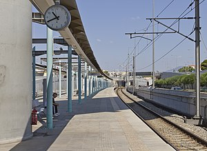 Doukissis Plakentias station - Doukissis Plakentias station of Proastiakos