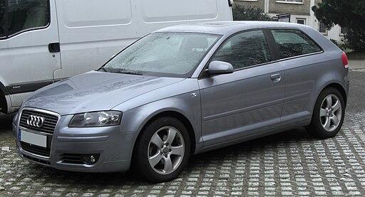 Audi A3 II front