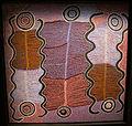 Australia, aborigeni, maggie napangardi watson, sogno della liana-serpente, deserto centrale, 1990-91, 03.JPG