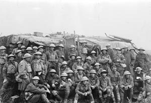 8th Battalion (Australia) - Members of the 8th Battalion, after attacking at Passchendaele, 28 October 1917