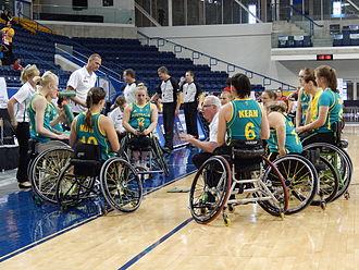 Australia women's national wheelchair basketball team - Australian Gliders at the 2014 Women's World Wheelchair Basketball Championship in Toronto