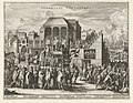 Auto-da-fe in Valladolid, 1558 Spaansche Inquisitie (titel op object), RP-P-OB-78.859.jpg