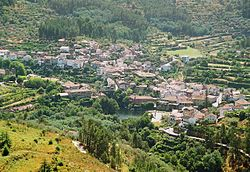 The village Avô, in the southern part of the municipality