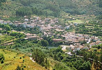 Oliveira do Hospital - The village Avô, in the southern part of the municipality
