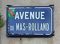 Avenue du Mas-Rolland (Saint-Maurice-de-Beynost) - 2019 - plaque.jpg
