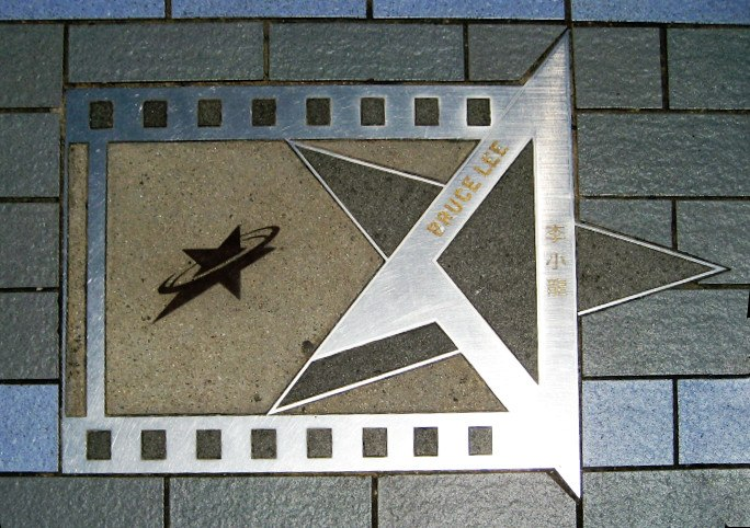 Avenue of Stars Bruce Lee