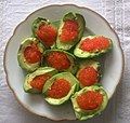 Avocado Salmon roe dish.jpg