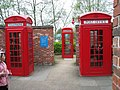 Avoncroft Museum - Red Telephone Kiosks - geograph.org.uk - 462513.jpg