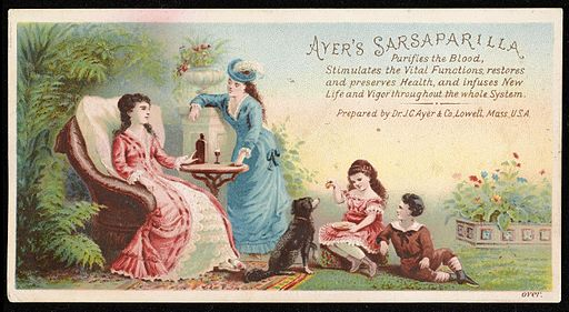 Ayer's Sarsaparilla purifies the blood Wellcome L0041345