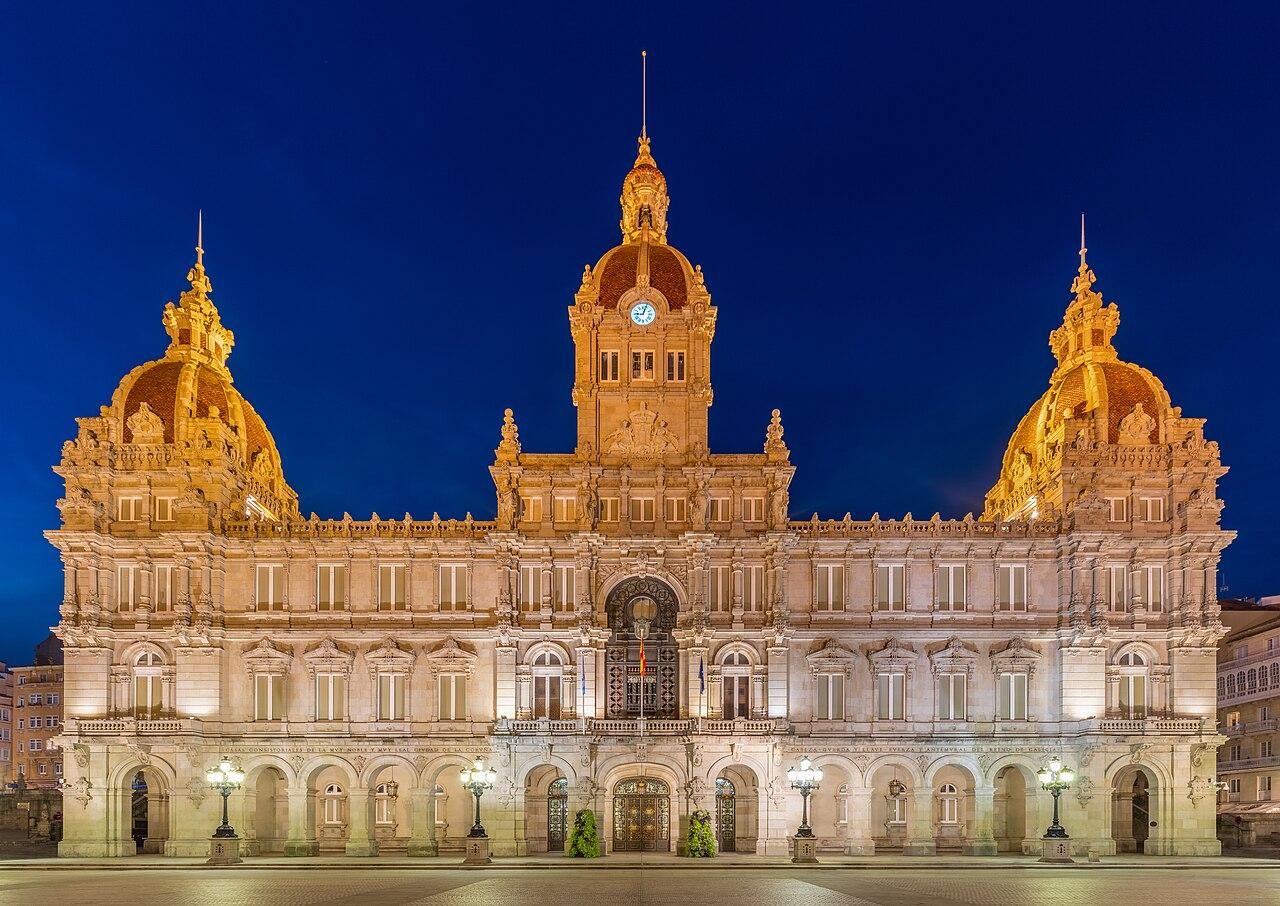 File:Ayuntamiento, La Coruña, España, 2015-09-25, DD 141-143 HDR ...